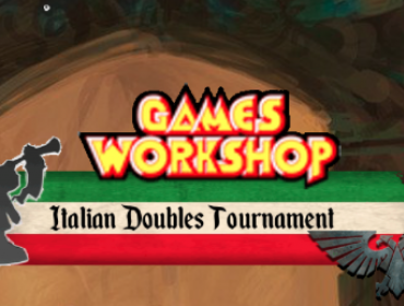 Games Workshop  Italian Doubles Tournament di Warhammer Age of Sigmar e Warhammer 40.000